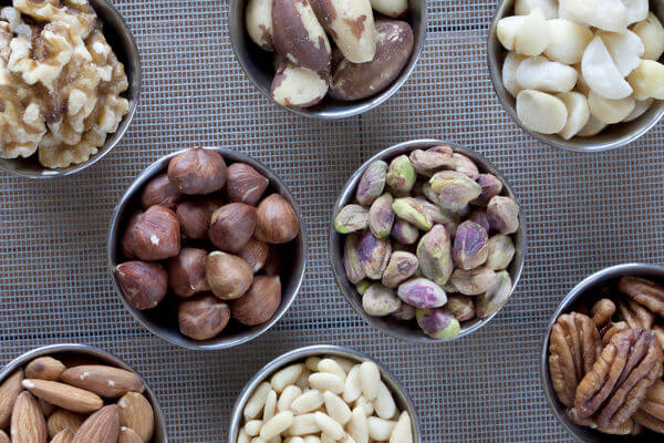 Sprouted, Raw Nuts: The Best Healthy Foods to Enhance Digestion, Increase Energy and Lose Weight?