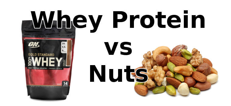 Whey Protein vs Nuts
